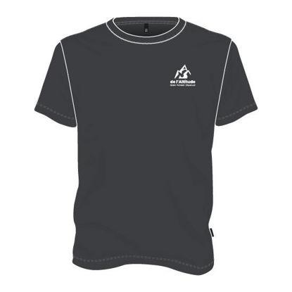 Image de T-shirt manches courtes (Gris foncé)
